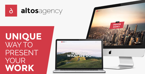 Altos One Page - Creative Agency HTML Template