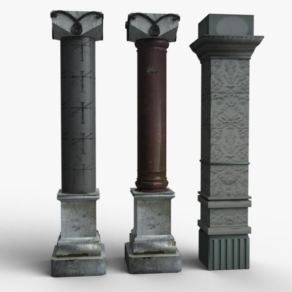 3DOcean Columns 16559824
