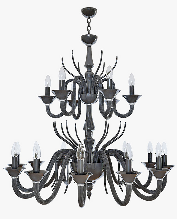 chandelier Leucos Belzebu - 3DOcean Item for Sale