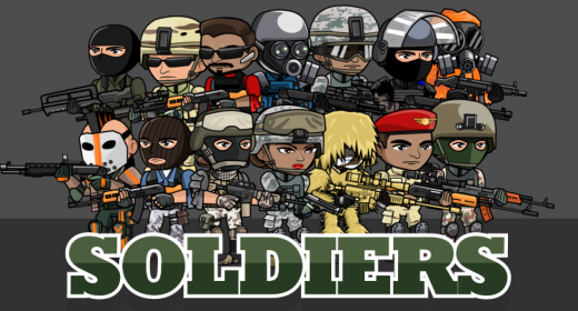 Soldier Character 8 - 1