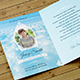 Peace Funeral Thank You Card Template