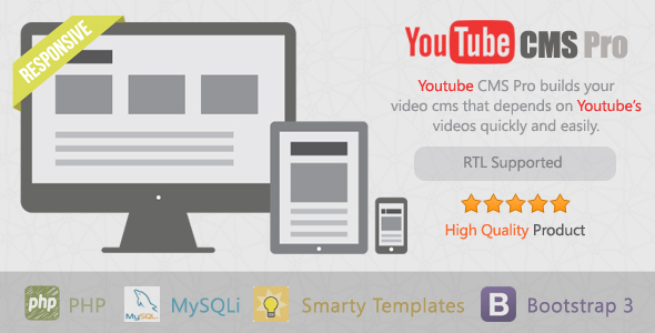 Download YouTube CMS Pro Version nulled download