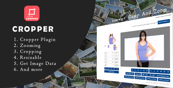 Download Cropper - Advance Image Crop And zooming Plugin nulled download