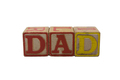Old Wood Blocks Dad - PhotoDune Item for Sale