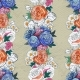 Seamless Pattern With Peony