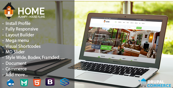 Home Planify Real Estate & eCommerce Theme
