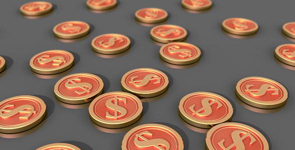 Taloudellinen merkit ja symbolit - Corporate Taustat Motion Graphics