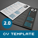 Download 3-Piece Resume CV Cover Letter from GraphicRiver