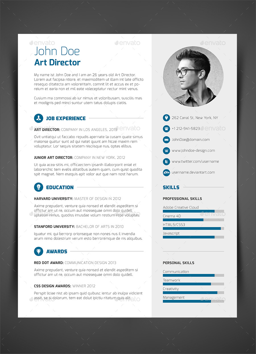 piece resume cv cover letter by bullero graphicriver 3 piece resume cv cover letter image set - A Cover Letter For Resume