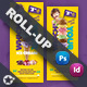 Ice Cream Roll-Up Templates