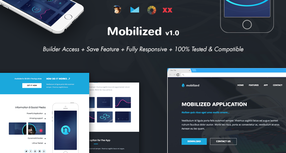 Mobilized - Responsive Email + Online Template Builder