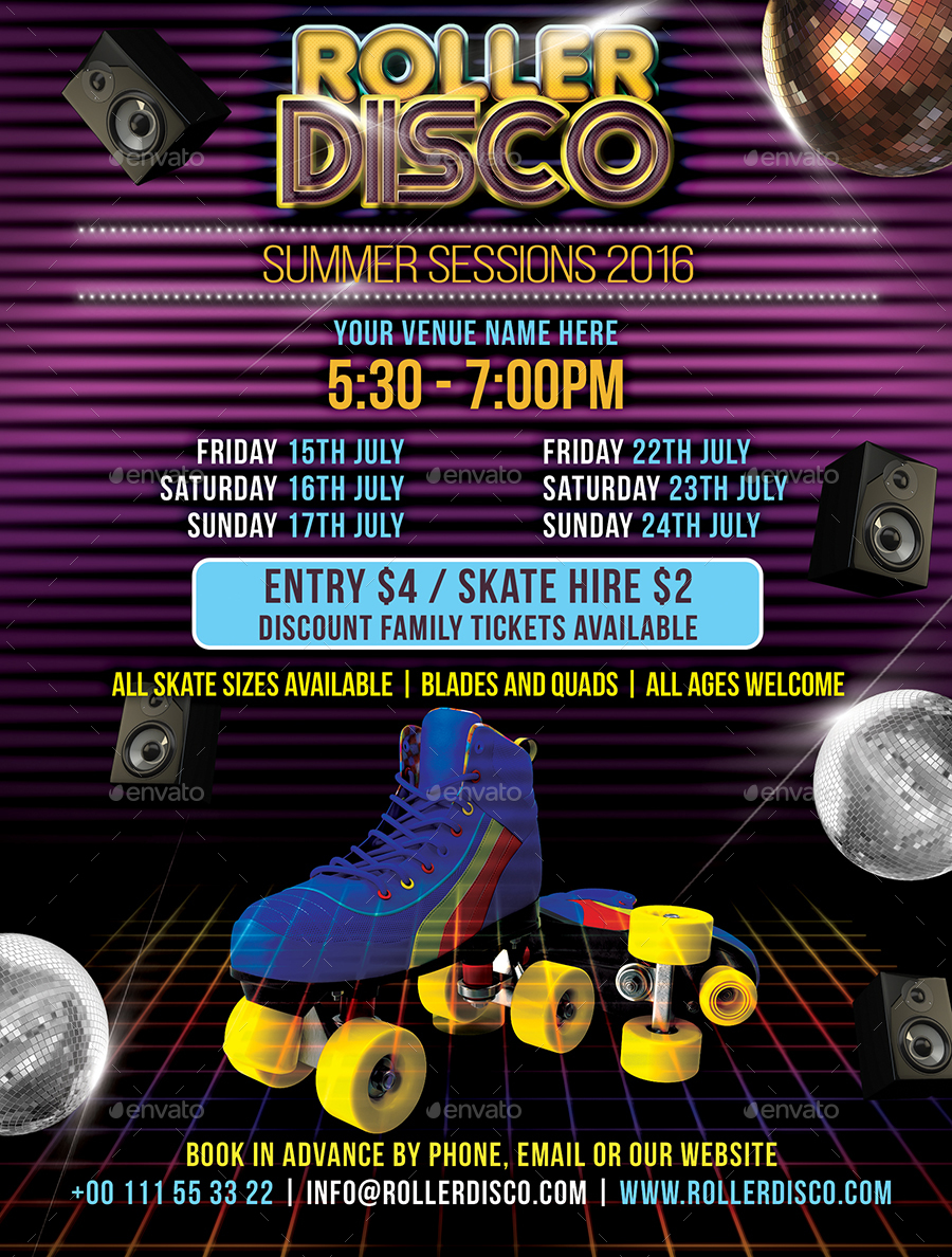 roller disco flyer template by designroom1229 graphicriver 01 roller disco flyertemplate jpg