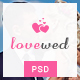 Lovewed - Event & Wedding PSD Template
