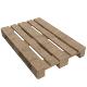 Wooden Euro Pallet Skid (PBR, UV-textured)
