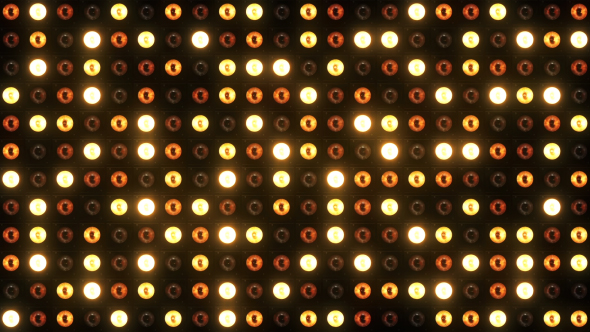 VideoHive Wall of Lights 16578974