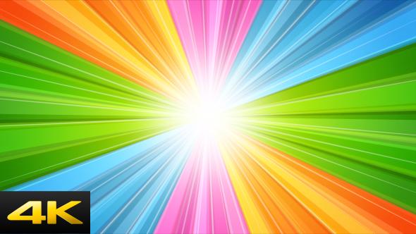 Rising Rainbow - Retro Taustat Motion Graphics