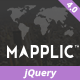 Mapplic - Custom Interactive Map jQuery Plugin