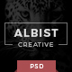 ALBIST - Creative PSD Template