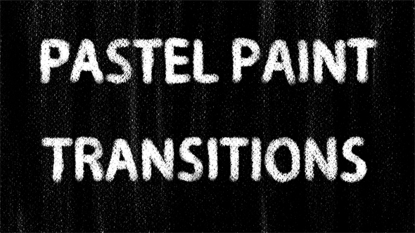Pastelli Paint Transitions - Grunge Transitions Motion Graphics