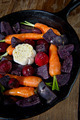 Root Vegetables in a Skillet - PhotoDune Item for Sale
