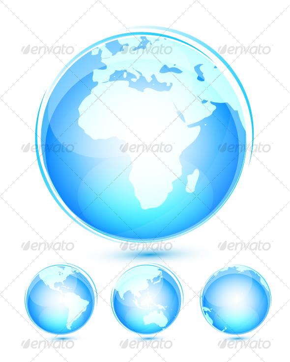 GraphicRiver Earth icon set 64694