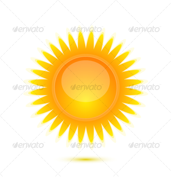 Sun icon - Nature Conceptual