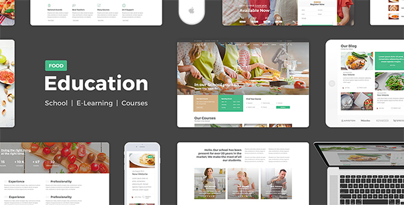Education Food - Education Learning For Education Courses School PSD