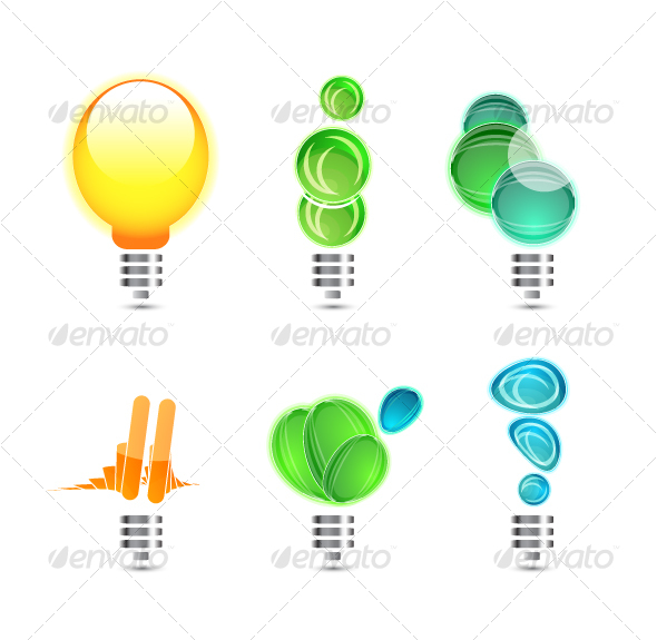 GraphicRiver Power concepts Icons 64701