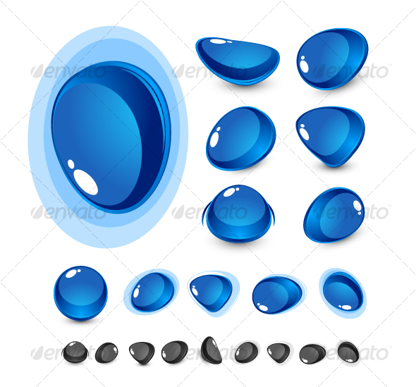 GraphicRiver Abstract glass shapes 64705