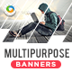 HTML5 Multi Purpose Banners - GWD - 7 Sizes(NF-CC-118)