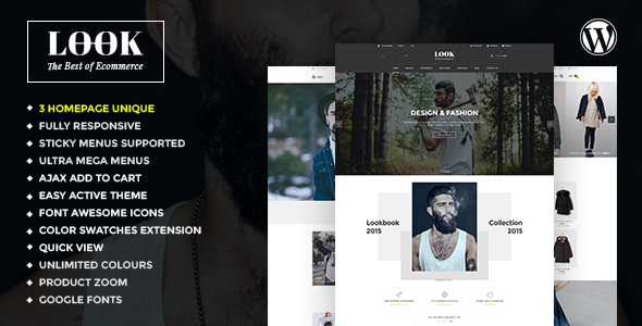 Look – Blog & WooCommerce Multipurpose WP Theme (eCommerce) images