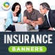 HTML5 Insurance Banners - GWD - 7 Sizes(NF-CC-124)