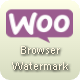 WooPlugins - Woocommerce Browser Watermark