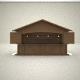 3D Kiosk Hut