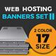 Web Hosting Banner Set II