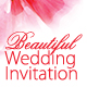 Beautiful Wedding Invitation - GraphicRiver Item for Sale