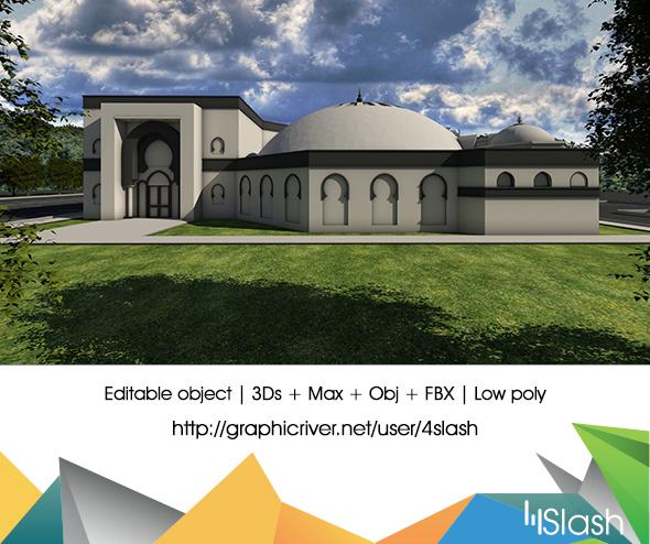 3DOcean 3D Mosque 16595543