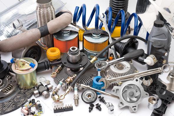 PhotoDune lots of auto parts 1658027