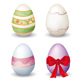 Collection of easter eggs - GraphicRiver Item for Sale