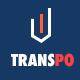 TRANSPO - Logistic & Transport PSD Template