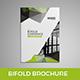 Modern Bi fold brochure