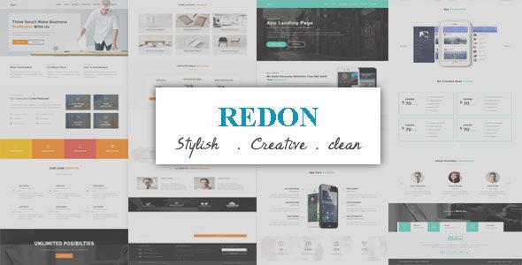 Redon-Multipurpose Landing Template