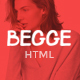 Begge - Modern Fashion Shop HTML Template