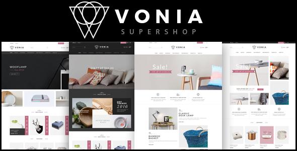 Vonia - Furniture Bootstrap Template
