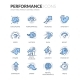 Line Performance Icons