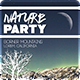 Nature Party Flyer Template
