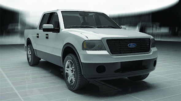 Ford Pickup truck - 3DOcean Item for Sale