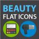Beuaty Flat Icons Set