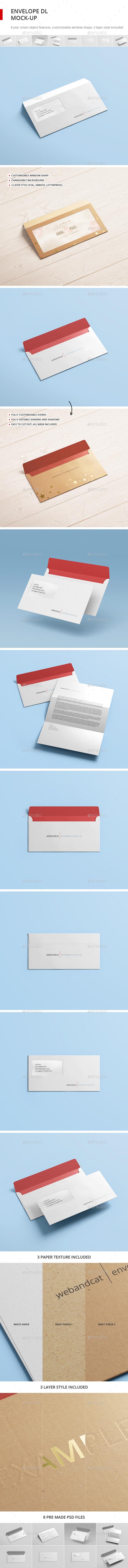 Envelope DL Mock-up (Stationery)