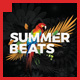Glam Summer Beats Flyer Template